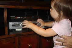 Cheap & easy way to kid proof your entertainment center