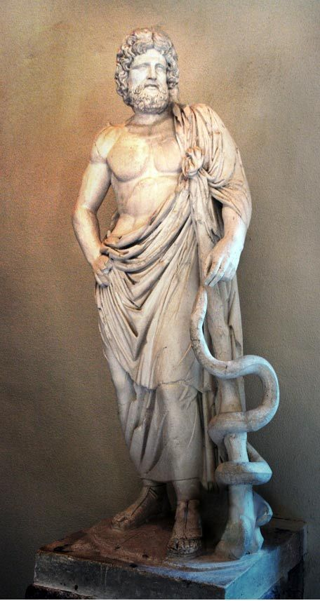 2,400-Year-Old Healing Temple dedicated to Asclepius, God of Healing, Excavated in Greece.