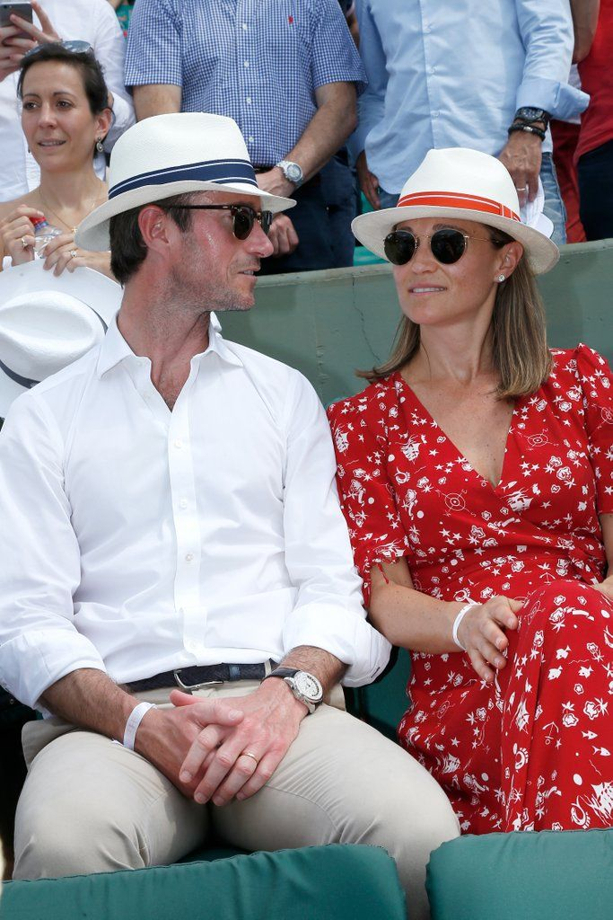 d0973998d Pippa Middleton and James Matthews's Glow at the French Open Screams ...
