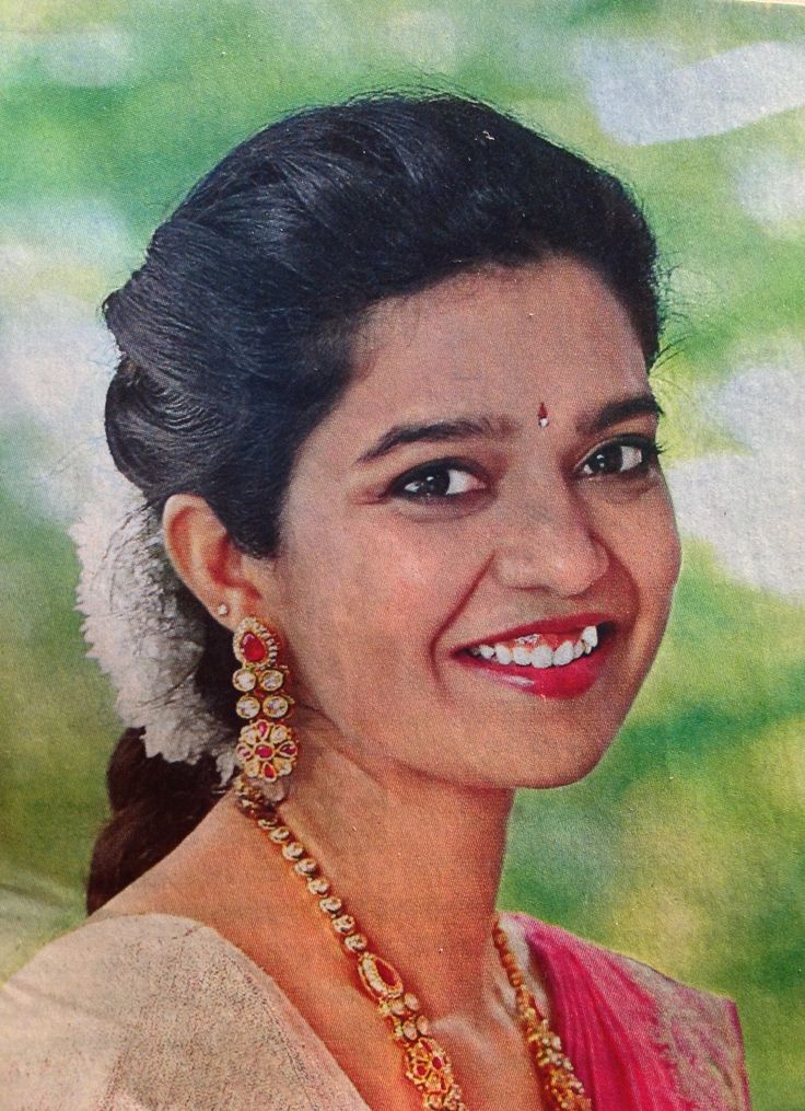 Swathireddy popularly known as colors Swathi.  An Telugu actress.