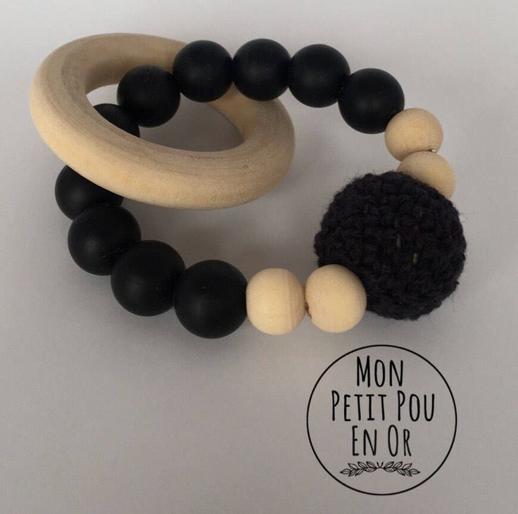 Jouet de dentition/ Teething Toy by MonPetitPouEnOr on Etsy https://www.etsy.com/ca/listing/551362106/jouet-de-dentition-teething-toy