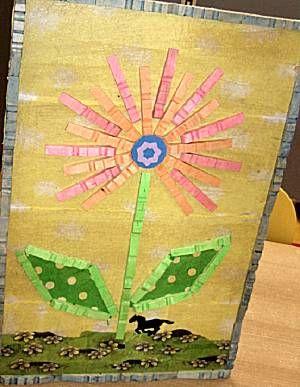 schilderij met knijpers