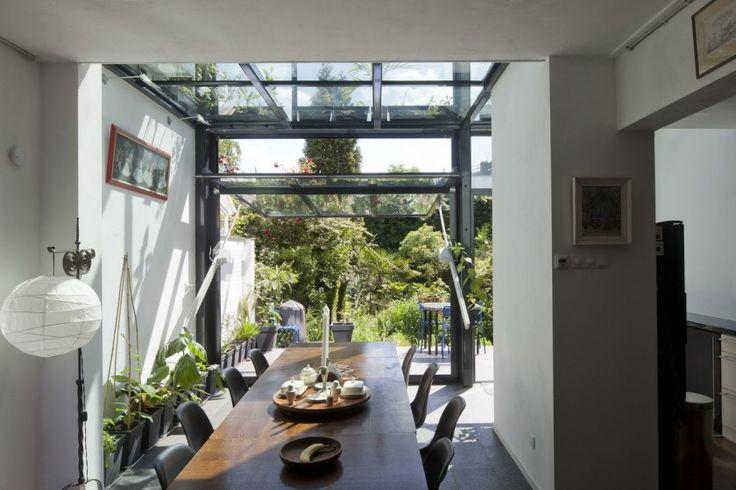 rotterdam glazen uitbouw modern architectuur glas jaren 30 particuliere woning…