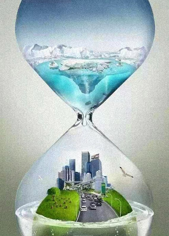 I think the message of this image is very strong because it shows that climate change can have a great impact on us and our planet.