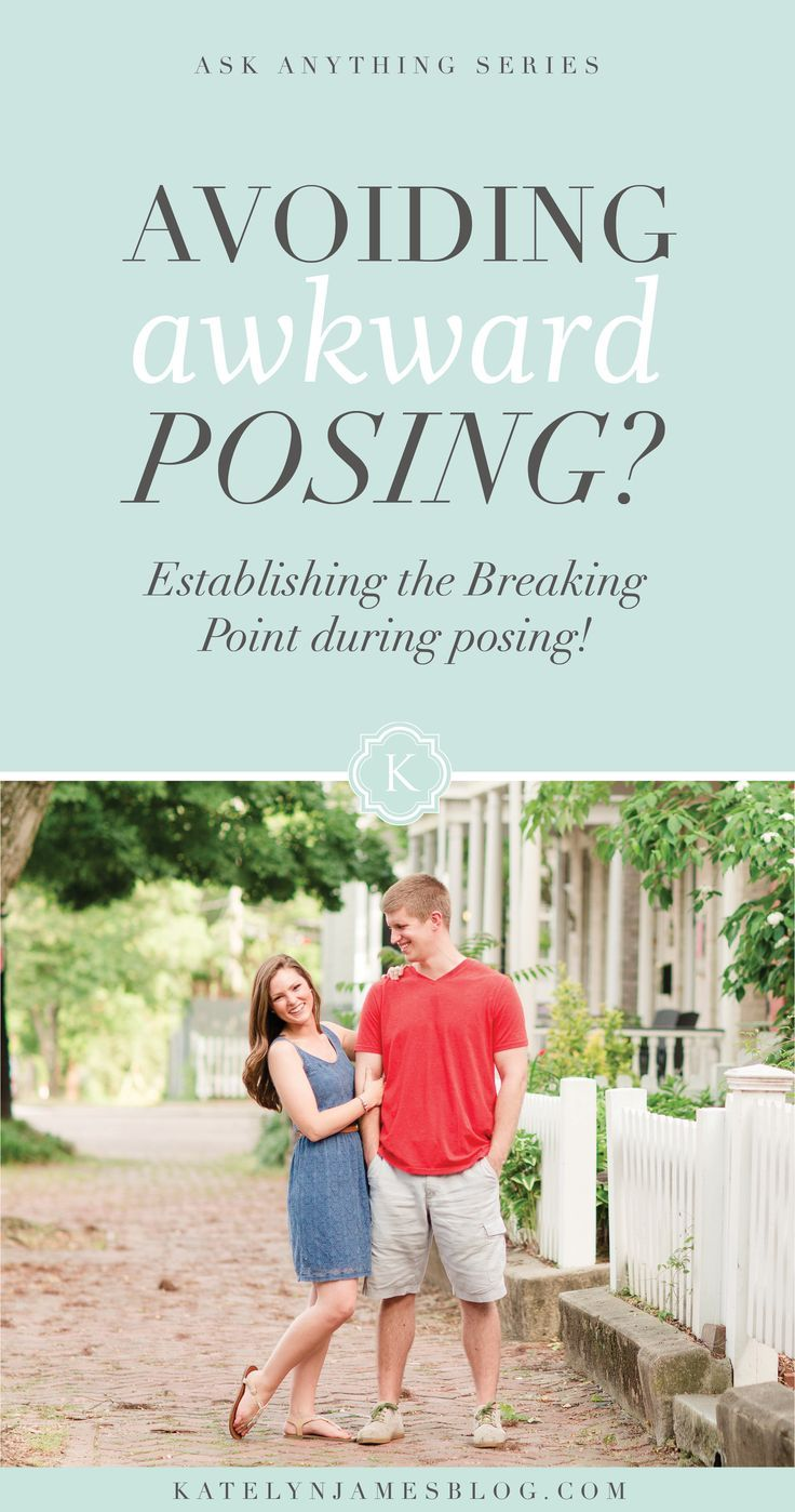 Establish the Breaking Point in Posing! Make Posing Less Awkward! Posing Tips and Tricks for Wedding Photographers | Katelyn James Photography