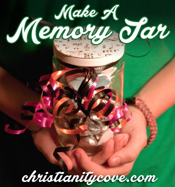 Memory Jar Craft - for memorizing scripture, Proverbs included!