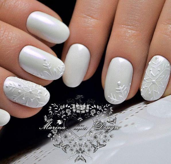 Маникюр | Видео уроки | Art Simple Nail winter nails - http://amzn.to/2iZnRSz