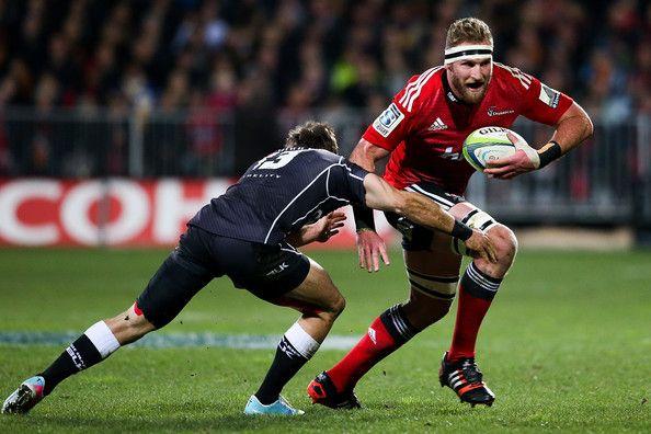 Kieran Read Photos: Super Rugby Semi Final - Crusaders v Sharks