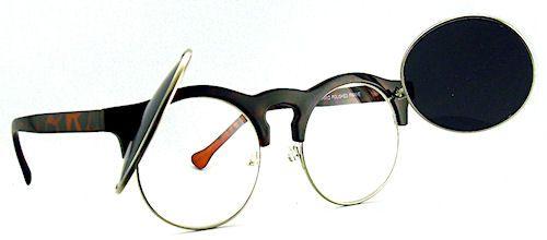 Flippin' Clubmaster Sunglasses - 125 Tortoise $16