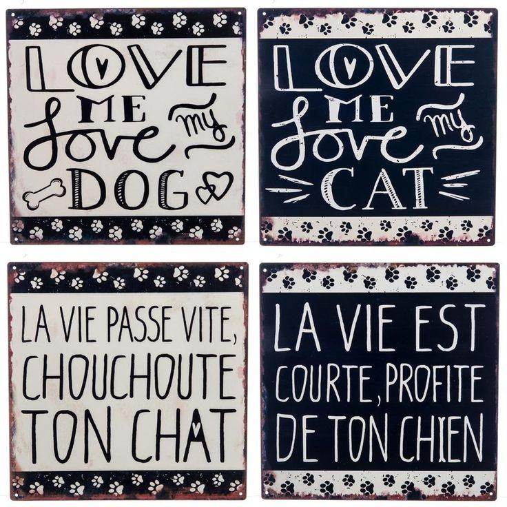 Plakkaat voor honden-/kattenliefhebbers