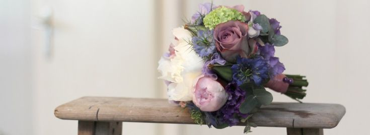 #Boeketje voor #bruidsmeisje Zoe. #Zachte, #lieve #kleuren, #speciaal voor een #zomer-#bruiloft!