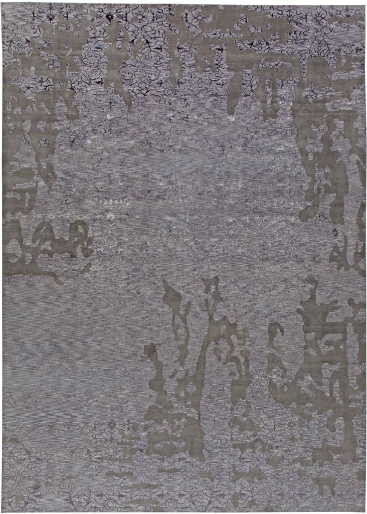 Contemporary Rugs: Contemporary rug in grey, modern style perfect for modern interior decor, modern living room, geometric pattern rug