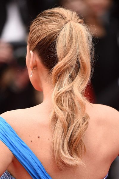 Blake Lively - 69th annual Cannes Film Festival - May 14, 2016 #Cannes2016 #ponytail #lorealhair
