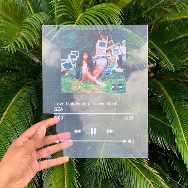 Custom Music Plaque 8x10