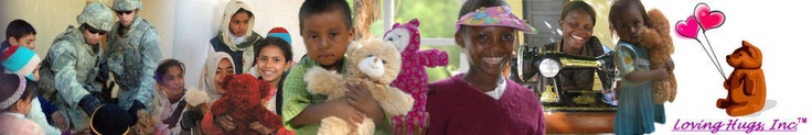 Loving Hugs Inc is a place to donate stuffed animals.  They are sent to children in need across the world.
