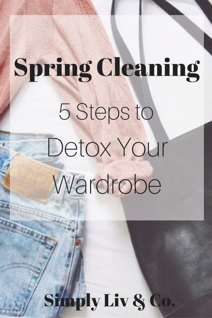 Spring cleaning is about more than dusting your shelves after a long winter. Try these five tips to give your spring wardrobe a needed refreshing as well.