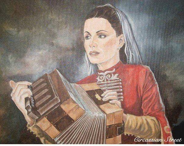 Circassian melodeon