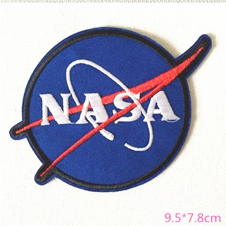 NASA Patch Space Center Uniform Clothing Polo Jacket Shirt Embroidered Iron on Sew on patches ** Click image for more details.