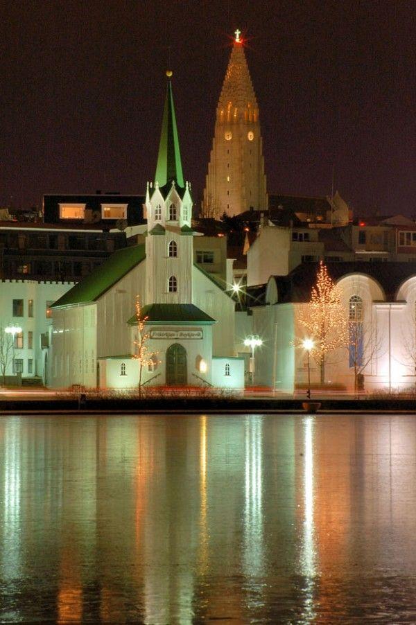 A Church In Reykjavík, Iceland