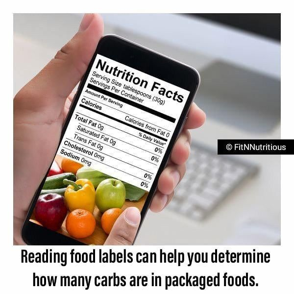 Watch The Best Youtube Videos Online 15 Easy Ways To Reduce Your Carbohydrate Intake 14 Start Reading Fo Food Nutrition Facts Reading Food Labels Nutrition