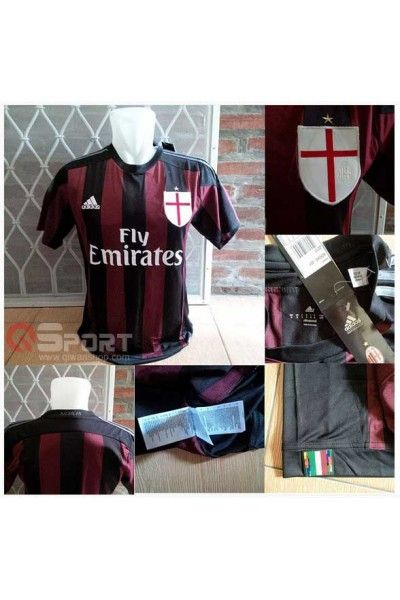 Jersey AC Milan Home Official 2015/2016