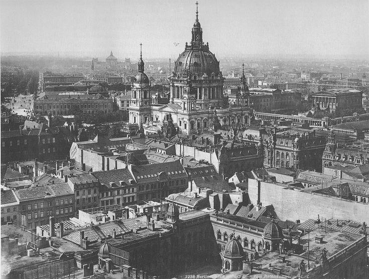 Berlin in alten Bildern - Seite 6 - Berlin - Architectura Pro Homine, Ein wunderbarer Blick vom Rathausturm nach NW (etwa um 1910).