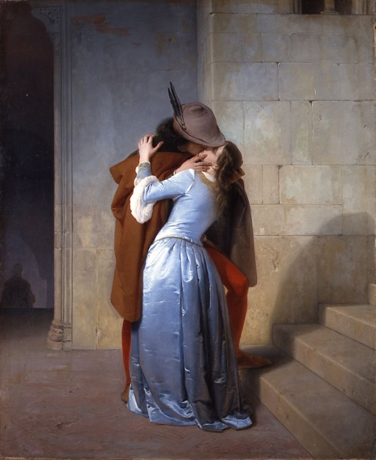 Francesco Hayez - Il Bacio / The Kiss, 1859