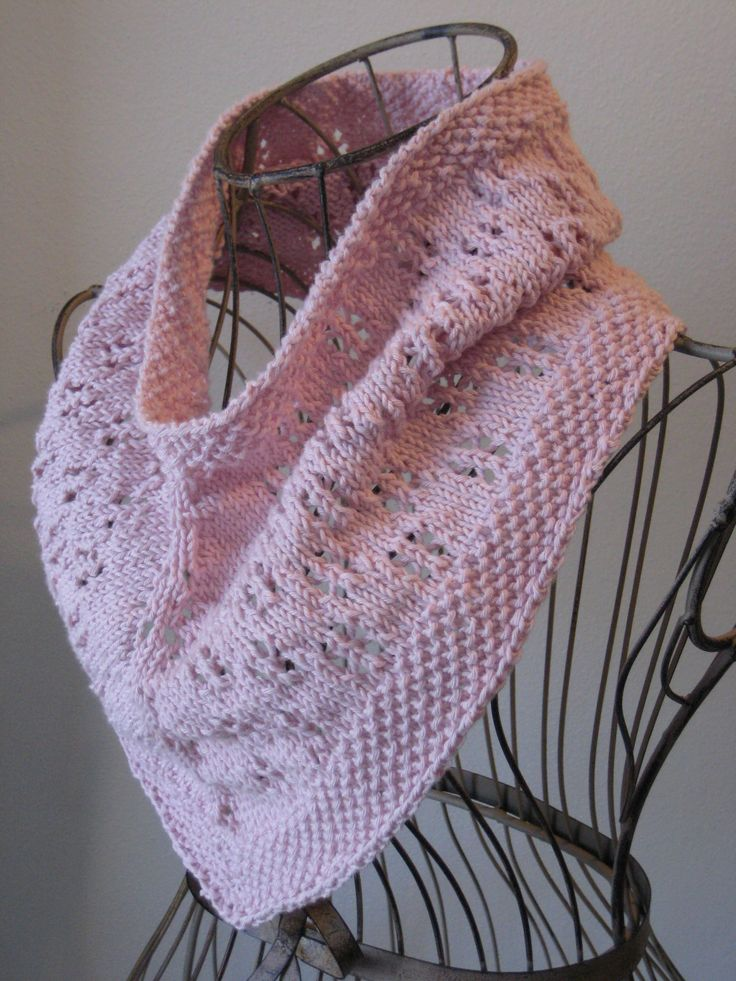 Knit Pattern Cowl Neck Warmer : Free Knitting Pattern - Cowls and Neck Warmers: Daisy Chain Cowl Knitting ...