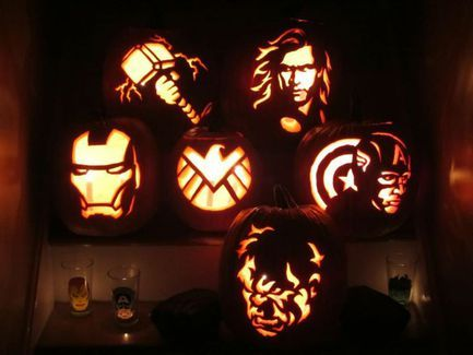 31 scary pumpkin carving patterns ideas for - Cool Halloween Pumpkin Carvings