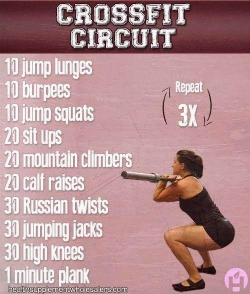 Women S Crossfit Workouts