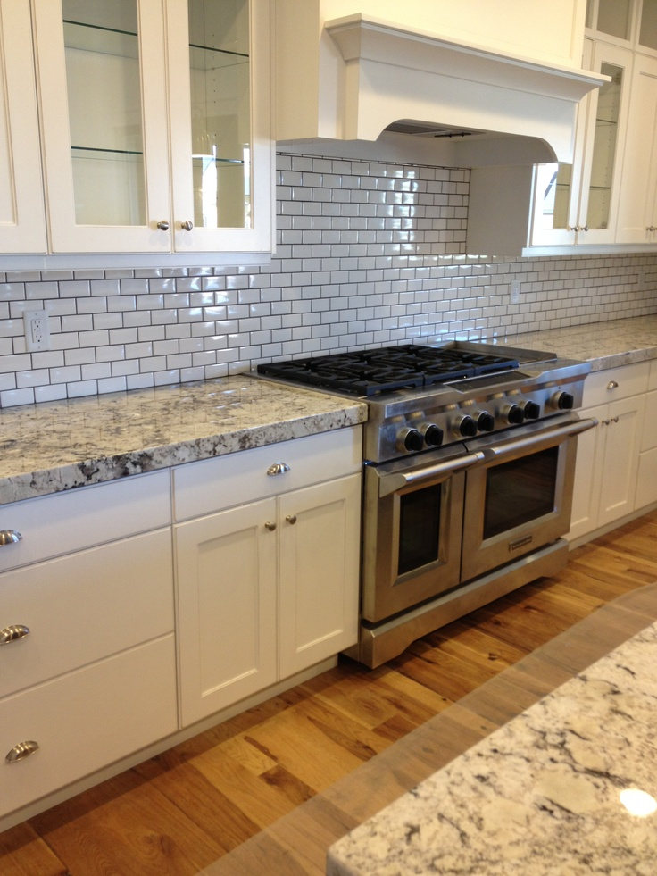White Subway Tile Backsplash Backsplash Accent Pieces