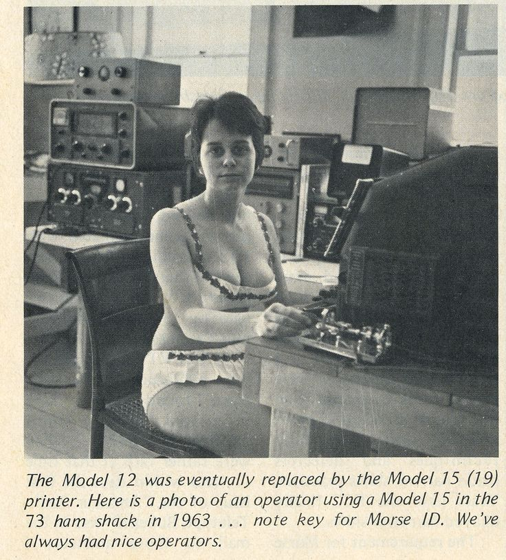 Um... somebody's trying very hard to sell their Teletype Model 15. WTH?