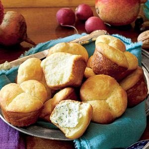 Easy Butter Rolls | MyRecipes.com These rolls are super easy to make ahead.