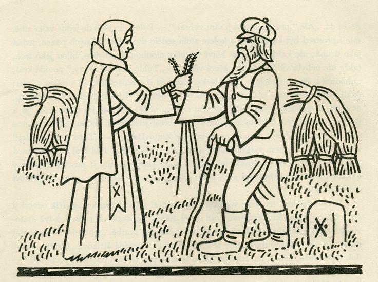Josef Lada – Illustration for the book Pohadky (by K.J. Erben)