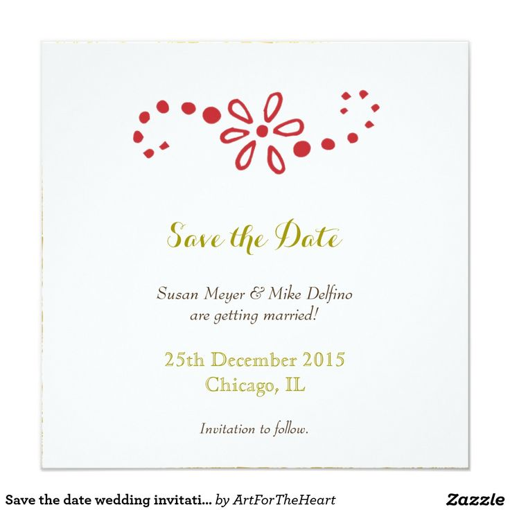 109 best save the date best cards invitations for weddings save the date wedding invitation card red gold stopboris Images