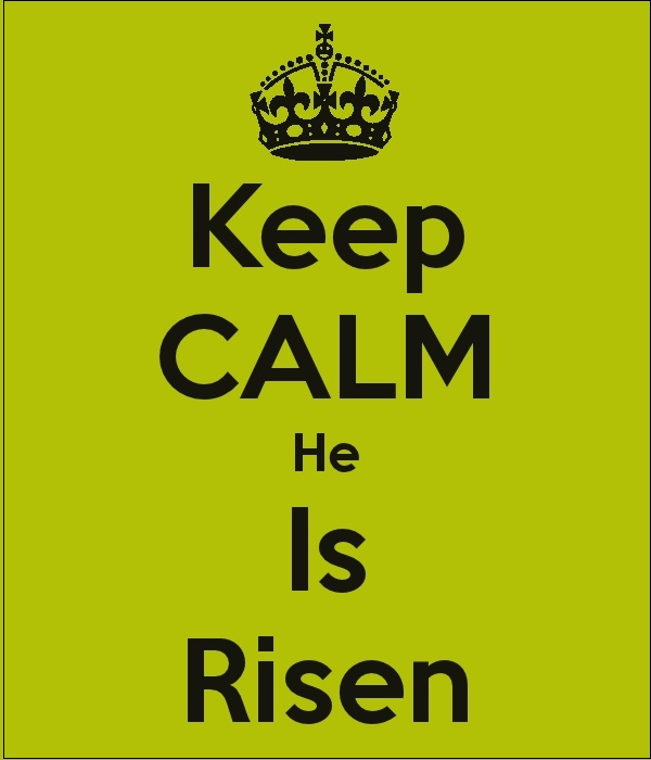 The core of Christian beliefs. TG.  Jesus is Risen. And all who seek and obey in Him will have eternal life.  TG