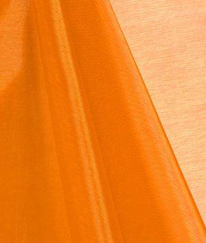 Orange Mirror Organza Fabric - $2.95   onlinefabricstore.net