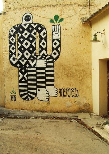"""""""ENTRE REALIDAD Y IMAGINARIO."""" Fes, Morocco, 2008 // art and photo by Remed"""