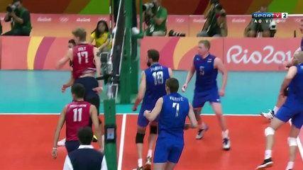 Voleibol Masculino Rio 2016 - Russia vs EUA SPORTV 21.08.2016 02/02   lodynt.com  لودي نت فيديو شير