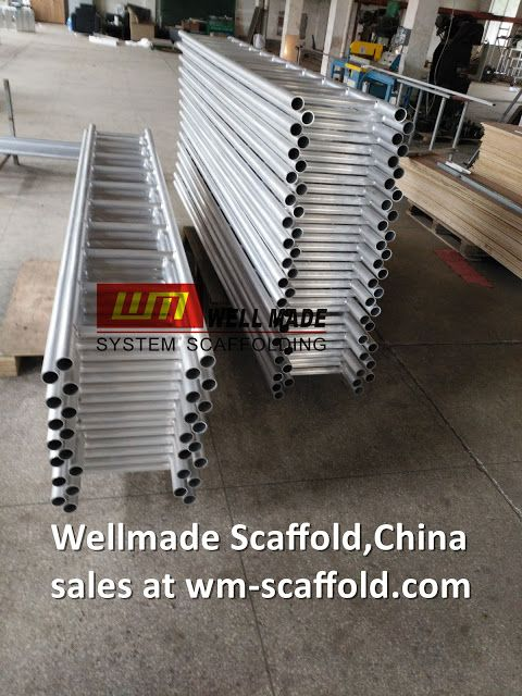 China Scaffolding Manufacturers: Alloy Scaffold Beam Truss Aluminium Scaffold Ladde...