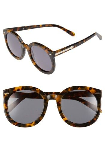 6d3ce1dfc489 Free shipping and returns on Karen Walker Super Duper Strength 55mm  Sunglasses at Nordstrom.com. An oversized silhouette exaggerates the retro  attitude of ...