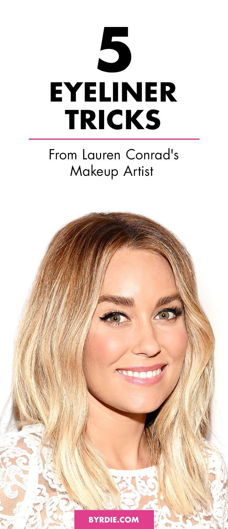 The eyeliner tricks Lauren Conrad's makeup artist swears by