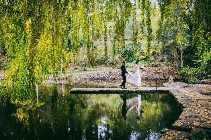 Lake jetty. #GlenEwinEstate #Weddings #bridal #adelaidehills #photos #Pulpshed