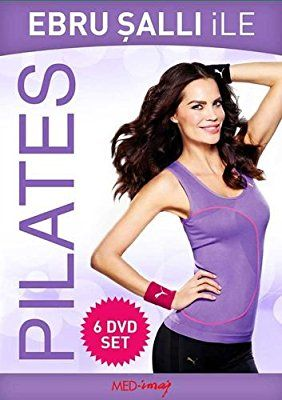 Ebru Salli Ile Pilates Box Set (6 Dvd)
