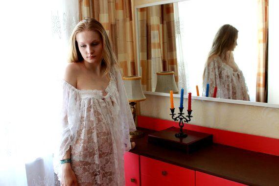 Свадебное нижнее белье ночная сорочка для от LaceAmyr на Etsy, $159.00