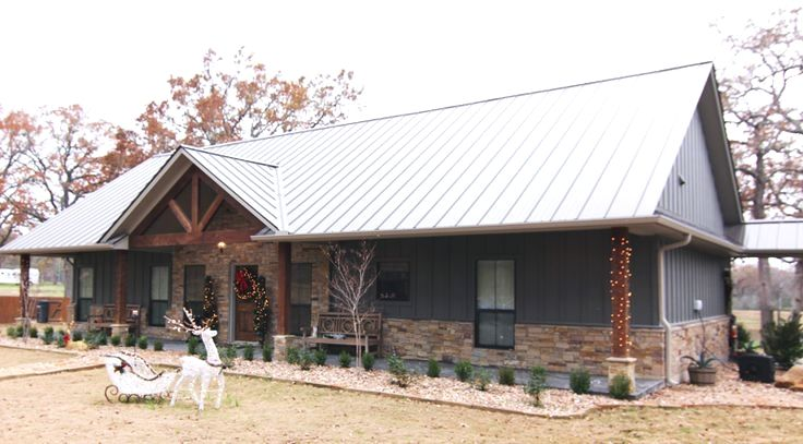 Metal Shop Building Click The Image For Various Metal Building Ideas 93994538 Metalbuildingpictures P Metal Building Homes House Exterior Barn House Plans