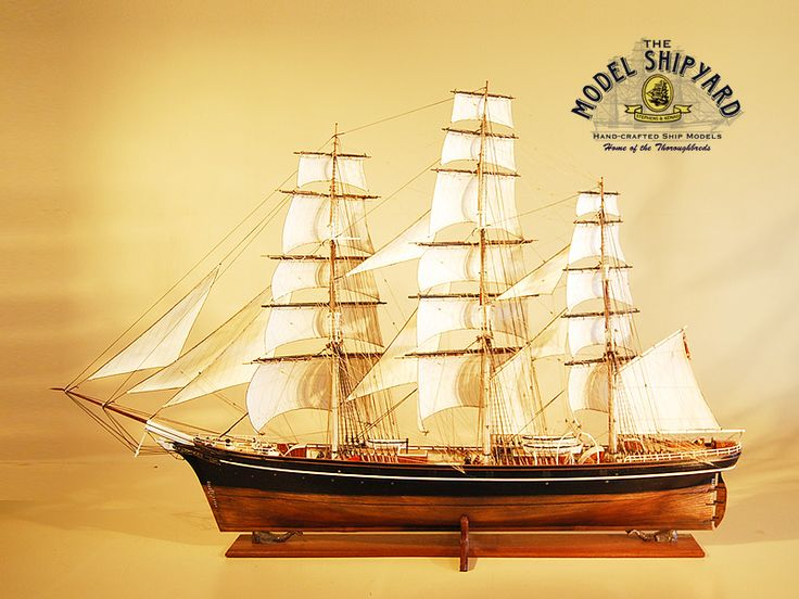 Cutty Sark wooden scale Model Ship Model Ship