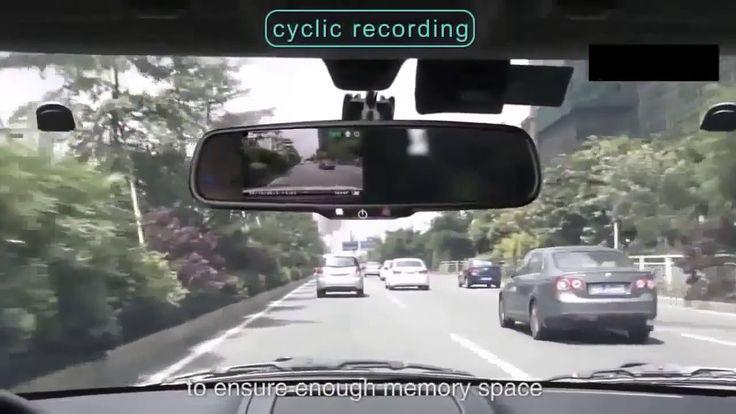 Зеркало видеорегистратор с Full HD