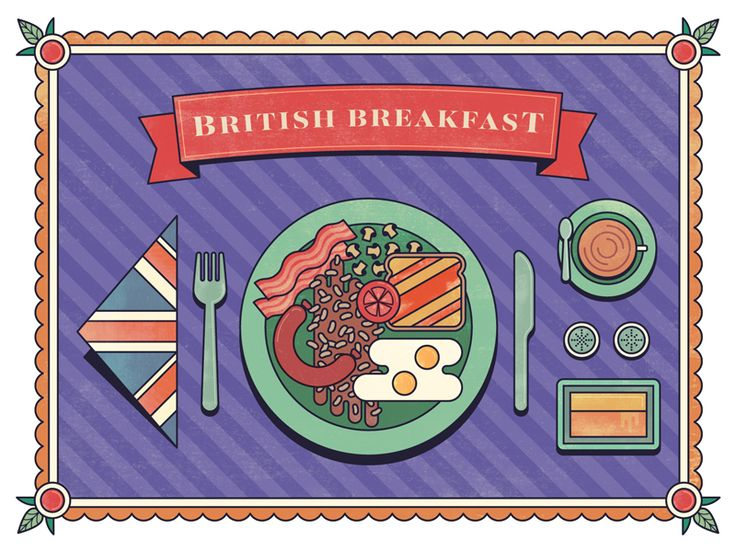 British Breakfast  by Christian Siles