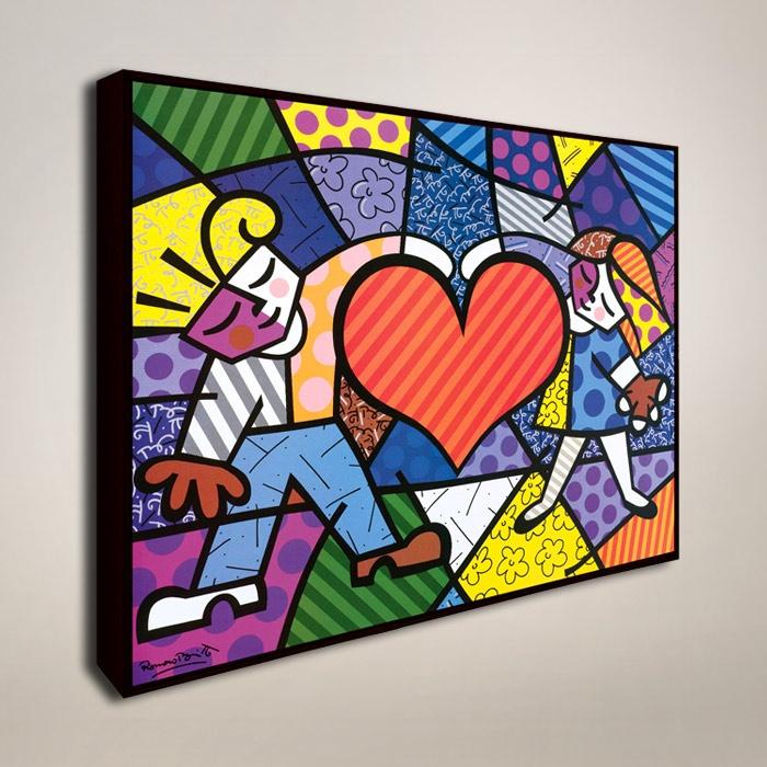 Heart Kids Mosaic Framed Print ($70.36)
